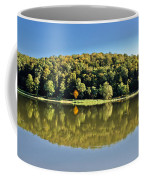Idyllic Autumn Reflections On Lake Surface Coffee Mug