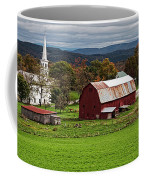 Idyllic Vermont Small Town Coffee Mug