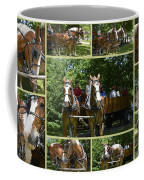 If You Love Belgian Horses Coffee Mug