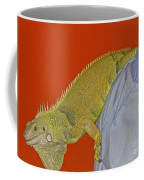 Iguana By The Tail Coffee Mug