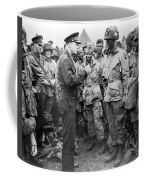 Ike With D-day Paratroopers Coffee Mug