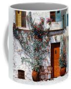 Il Cortile Bianco Coffee Mug by Guido Borelli