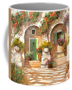 Il Cortile Coffee Mug by Guido Borelli