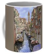 il gatto nero a Venezia Coffee Mug