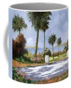 Il Giardino Delle Palme Coffee Mug by Guido Borelli
