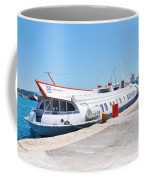 Ilida II Hydrofoil At Kerkira Coffee Mug