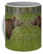 I'll Kick Your Butt No I'll Kick Your Butt Coffee Mug