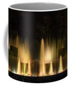 Illuminated Dancing Fountains Coffee Mug by Sally Weigand