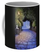 Illuminated Victorian Street Light Coffee Mug