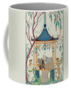 Illustration For 'fetes Galantes' Coffee Mug