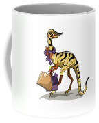 Illustration Of An Iguanodon Coffee Mug