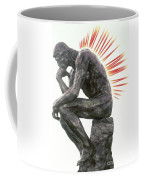 Illustration Of Back Pain Coffee Mug