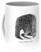 I'm Back.  The Brie's Not Ripe Coffee Mug by Robert Weber