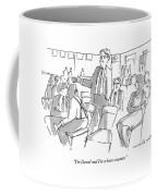 I'm David And I'm A Bean-counter Coffee Mug by Michael Crawford