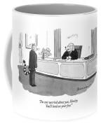 I'm Not Worried Coffee Mug