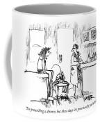 I'm Prescribing A Divorce Coffee Mug