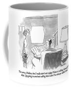 I'm Sorry, Melissa, But I Really Don't Care What Coffee Mug