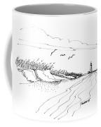 Imagination 1993 - Atlantic Coast Beach No 2 Coffee Mug
