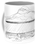 Imagination 1993 - Storm At Sea Coffee Mug by Richard Wambach