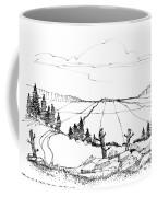 Imagination 1993 - Vast Valley View Coffee Mug by Richard Wambach