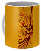 Imagination In Hot Vivid Yellows Coffee Mug