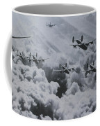 Imagine The Brave Men In These Bombers On A World War II Mission Coffee Mug