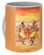 Imbiyino Dance From Rwanda Coffee Mug