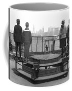 Immigrants At Ellis Island Coffee Mug