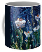 Impasto Daisies Coffee Mug