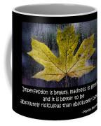 Imperfection Coffee Mug