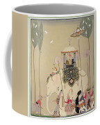 Imperial Procession Coffee Mug by Georges Barbier