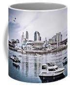 Implosion Of River Front Stadium Coffee Mug