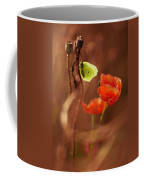Impression With Red Poppies Coffee Mug
