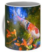 Impressionism  Koi 2 Coffee Mug