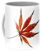 Impressionist Japanese Maple Leaf Coffee Mug