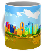 Impressionist Pittsburgh From The North Side Coffee Mug
