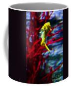 Impressionist Sea Horse Coffee Mug