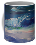 Impressionistic Abstract Wave Coffee Mug