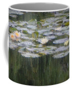 Impressions Of Monet's Water Lilies  Coffee Mug