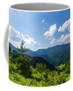 Impressions Of Mountains And Forests And Trees Coffee Mug