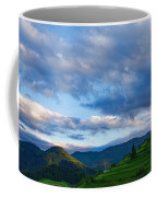 Impressions Of Mountains And Magical Clouds Coffee Mug