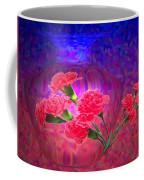Impressions Of Pink Carnations Coffee Mug by Joyce Dickens