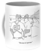 In A Baseball Game Coffee Mug