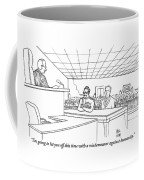 In A Courtroom Coffee Mug