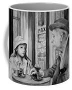 In A Parisian Cafe Coffee Mug