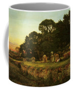 In Country Churchyard Wittington Worcester Coffee Mug