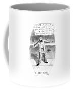 In Deep Denial Oh Coffee Mug