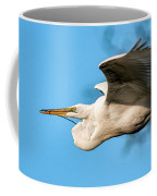 In Flight With Stick Coffee Mug