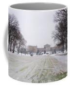In Front Of The Philadelphia Art Museum Coffee Mug