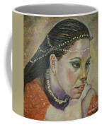 In Her Thoughts Coffee Mug